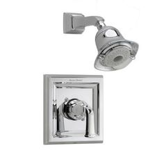 American Standard Town Square 1-Handle Shower Faucet Trim Kit in Polished Chrome (Valve Not Included)-T555.527.002 - The Home Depot