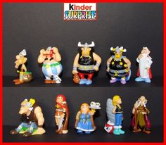 2006 Asterix and The Vikings Ferrero Kinder Surprise Complete Set   eBay