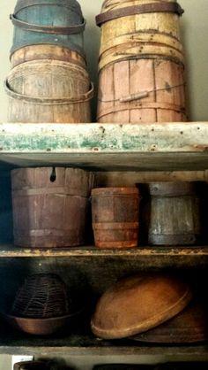 Firkins and buckets
