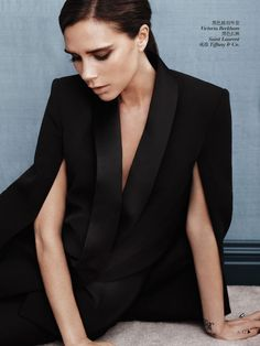 Victoria Beckham by Josh Olins for Vogue China