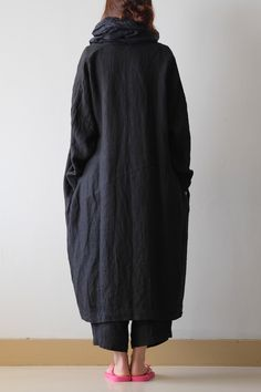 EASY COAT   LINEN H.B. BLACK  linen 100%  ¥26,460(税込み) SOLD        DUMPY PANTS  LINEN H.B. BLACK  linen 100%  ¥22,140(税込み)   ストール MITTAN...