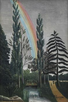 The Lake of Daumesnil by Henri Rousseau | Art Posters & Prints