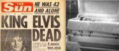 16 août 1977♦  Le King Elvis Presley meurt sur le trône, victime d'une constipation chronique.