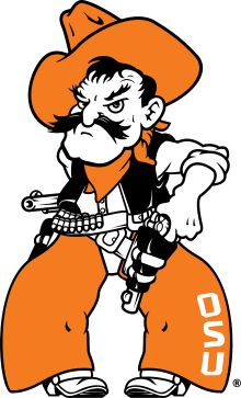 Pistol Pete: Oklahoma State Cowboys' mascot.
