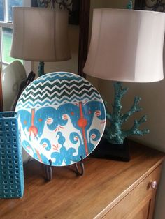 : large decorative plates and stands - pezcame.com