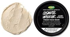 One Allure Editor Tried This Garlic Face Mask and It Cleared Her Acne: Lush Cosmetic Warrior Fresh Face Mask