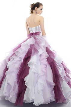 Discount Paris Designers Sweetheart Appliques Tiered Sash Chiffon Tulle Sweep Train Quinceanera Dress in Style of Ball Gown (2012QD-004) Online