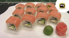 Как сделать роллы ФИЛАДЕЛЬФИЯ своими руками в домашних условиях My Sushi, Japanese Sushi, Sashimi, Recipies, Rolls, Food And Drink, Cooking, Ethnic Recipes, Youtube