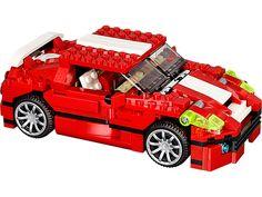 Parcours les rues avec cette voiture de course surpuissante 3-en-1 ultra cool !
