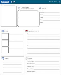 This is brilliant- A facebook page that your pupils can add to. Perfect for character creation. My pupils will be using this on Monday to create Heroes/ heroines for our myths and legends topic!