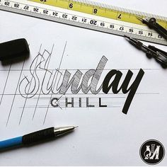 Hand lettering inspiration on a daily basis! Calligraphy and hand lettering for beginners we provide inspirational and educational content on the art of typography! Visit our website to find out more :) Types Of Lettering, Script Lettering, Calligraphy Letters, Typography Letters, Brush Lettering, Graphic Design Typography, Lettering Design, Word Design, Text Design