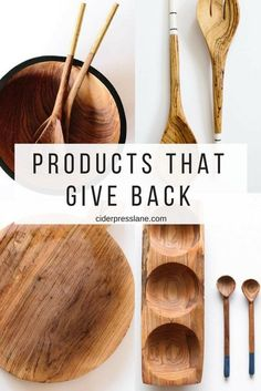 All fair trade products that give back when you buy them as well! Make your purchases have a purpose! #fairtrade #handcrafted #woodutensils #artisiandesign #hosting #recipes #food #foodie #mealplanning #gather #community #dinnerparty #dinner #eventfood #feedingacrowd #tablescapes #decor #design