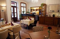 Tusculum, Karlovy Vary – recenze restaurace - TripAdvisor Trip Advisor, Restaurant, Bar, Table, Furniture, Home Decor, Decoration Home, Room Decor, Tables