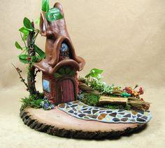 Woodland Fairy House. $80.00, via Etsy.