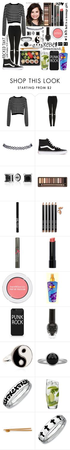 """""""I'm off the deep end- sleeping, all night through the weekend"""" by iknowfashion1thelyricsmatter ❤ liked on Polyvore featuring TIBI, Topshop, Wet Seal, Vans, Bling Jewelry, Urban Decay, Bobbi Brown Cosmetics, Smashbox, Bare Escentuals and Victoria's Secret"""