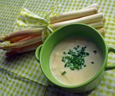 Rezept Spargel-Creme-Suppe vom Landhaus-Team von landhaus-team - Rezept der Kategorie Suppen
