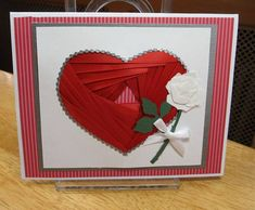 Iris Folded Heart for Valentine's day  By JD from PAUSA
