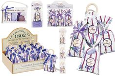 Our Provence Collection showcases the best of the South of France in beautiful fabric sachets filled with Lavender and Lavandin.