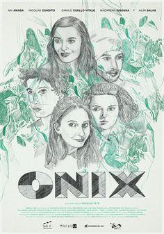 Afiche Poster. Película Onix. Cine Argentino.