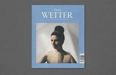 »Das Wetter« Magazine for Music and Literatur Issue 5 on Behance