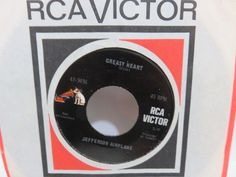 JEFFERSON AIRPLANE geasy heart / share a little joke with the world RCA  45
