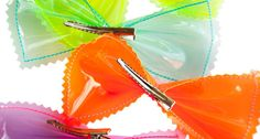Neon Bows by Yestadt Millinery.