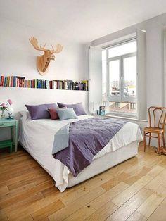 Vivienda zona Malasaña, Madrid: Dormitorios de estilo escandinavo de nimú equipo de diseño