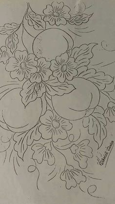 pattern idea Source by haleogsuz Floral Embroidery Patterns, Hand Embroidery Designs, Embroidery Applique, Embroidery Stitches, Coloring Books, Coloring Pages, Blackwork Patterns, Glass Engraving, Flower Sketches