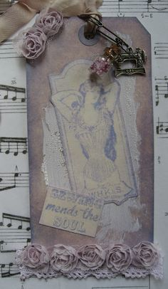 lavender and lace dt tag