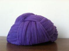 1950s/60s Purple Tulle Basketweave Turban by museVINTAGELA on Etsy, $20.00