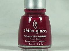 china glaze- Exotic Cranberry