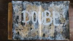 Art journal page: Doubt