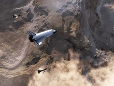 Escort over California