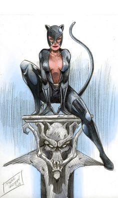 Gatubela by miguelguzman Batgirl, Catwoman Comic, Catwoman Cosplay, Batman And Catwoman, Batman Art, Batwoman, Batman Arkham, Batman Robin, Comic Book Characters
