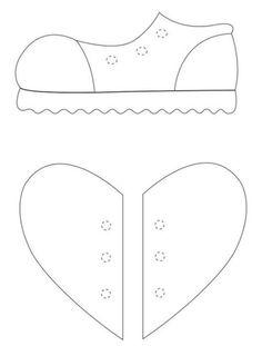 Printable Baby Footprint Template from PrintableTreats.com