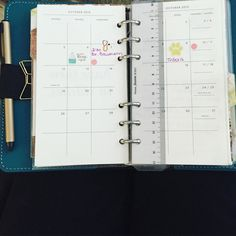 Filling in the monthly section of my on the go planner.  #planner #planners #planning #plannergeek #plannerlife #planneraddict #plannernerd #plannerstickers #plannersupplies #plannerobsessed #plannerorganization #kikkik #stickers #stationary #stickeraddict #etsy #erincondren #eclp #letsstartplanning #filofax #aqua #filofaxoriginal by letsstartplanning