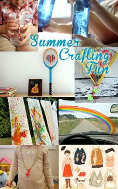 Make It Crafty – Summer Craft Ideas plastic jelly fish Summer Crafts, Summer Fun, Fun Crafts, Crafts For Kids, Arts And Crafts, Diy Craft Projects, Sewing Projects, Craft Ideas, Craft Box