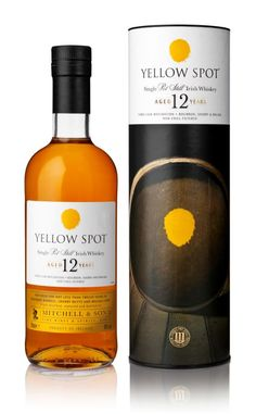 Yellow Spot Irish Whiskey is now available in the US market, which should excite fans of its sibling whiskey, Green Spot. The single pot still whiskey is matured in a combination of American bourbon, Spanish sherry and Spanish Malaga casks. Jameson Irish Whiskey, Irish Whiskey Drinks, Bourbon Whiskey, Whisky Bar, Bourbon Drinks, Scotch Whisky, Pot Still, Single Malt Whisky, Whiskey Bottle