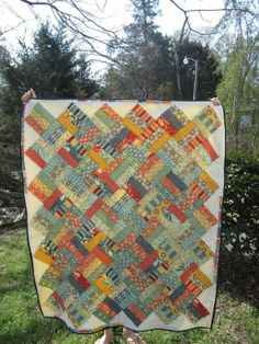 Salt Air Jelly Roll Quilt. This is beautiful !!!