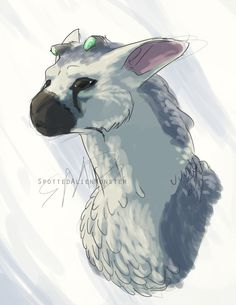 The Last Guardian by SpottedAlienMonster - I love Trico sooo much!! T-T