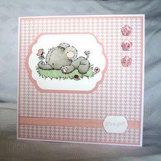New Baby Girl Card £2.00