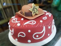 Bolo tema sertanejo; country theme cake