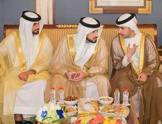 Ahmed bin Mohammed bin Rashid Al Maktoum, Mansoor bin Mohammed bin Rashid Al Maktoum y Zayed bin Maktoum bin Rashid Al Maktoum, 12/09/2016. Vía: zayedbinmaktoum
