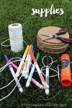 Comment bricoler des toupies de papier pour les enfants, super facilement! - Bricolages - Trucs et Bricolages