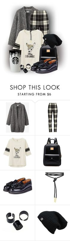"""*******"" by elona-makavelli ❤ liked on Polyvore featuring Toast, MaxMara, Uniqlo, Grenson and Band of Outsiders"