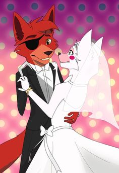 I both do and don't ship foxy and mangle but all the fan art is so damn cute