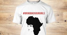 SPECIAL EDITION-Bring Back our Girls Tee  Support the cause! 30% gets donated towards efforts to stop #humantrafficking   http://www.teespring.com/bringbackourgirlstee  #bringbackourgirls  #nigeria #africa #trafficking #todayimwearing #parents #mothersday #kids #instafashion #ootd #justice #beautiful #girls