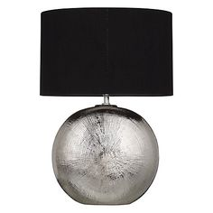 Buy John Lewis Benjamin Chromed Ceramic Table Lamp Online at johnlewis.com