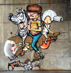 by David Choe in Denver (LP)