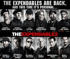 Titles: The Expendables 2